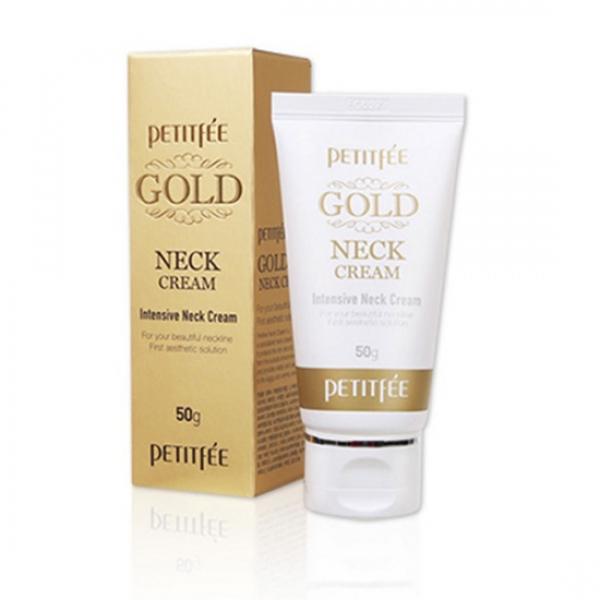 Антивозрастной крем для лица Petitfee Gold Intensive Neck Cream
