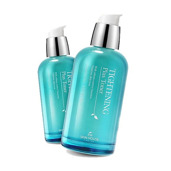 После умывания средство успокаивает кожу, увлажняет ее и сужает поры. The Skin House Tightening Plus Toner