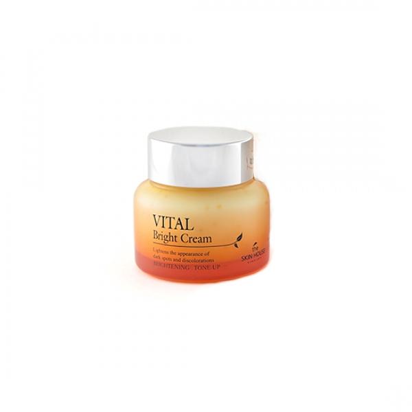 Осветляющий крем для лица The Skin House Vital Bright Cream тональный крем the saem porcelain skin bb cream spf30 ра 02
