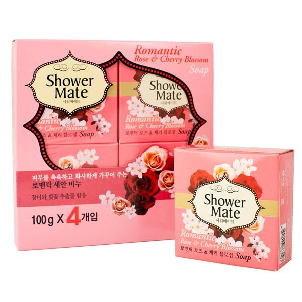 Набор косметического мыла Kerasys Shower Mate Soap гель для душа kerasys shower mate body wash romantic rose