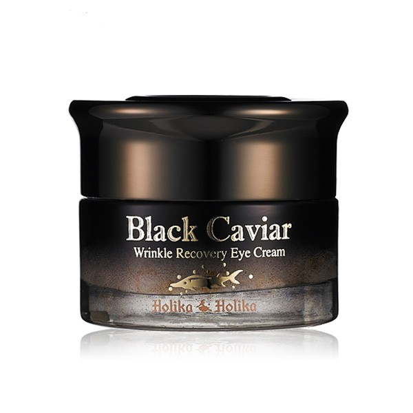 Омолаживающий крем для век Holika Holika Black Caviar Antiwrinkle Eye Cream holika holika крем осветляющий для лица прайм йос вайт снэил prime youth white snail tone up cream 50 мл