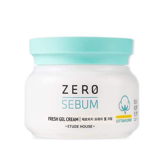 Гель-крем для жирной кожи матирующий Etude House Zero Sebum Fresh Gel Cream крем etude house hand bouguet rich collagen hand cream 50 мл
