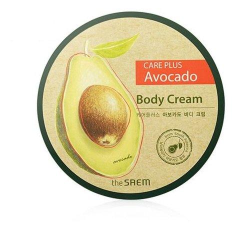 Питательный крем для тела с авокадо The Saem Care Plus Avocado Body Cream крем sea of spa body cream with avocado