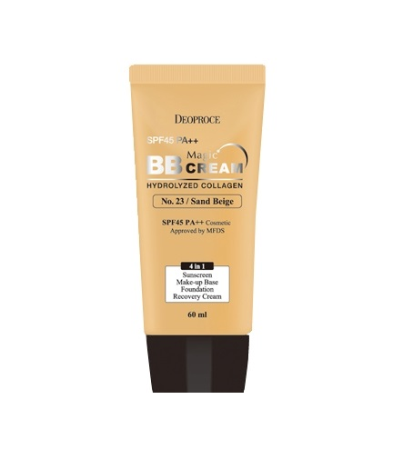 BB крем с морским коллагеном Deoproce Deoproce Magic BB Cream вв крем для яркости кожи skin79 dark panda bb cream