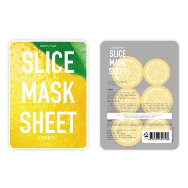 Маски-слайсы Kocostar Slice Mask Sheet тканевая маска kocostar маски слайсы slice mask sheet lemon объем 20 мл