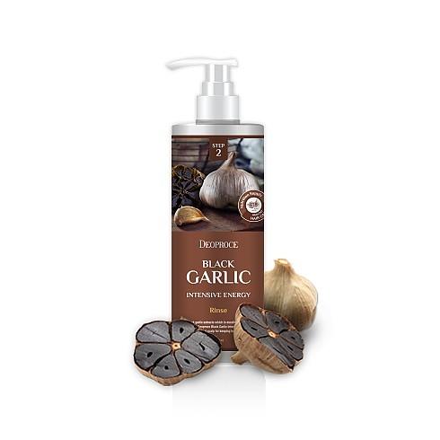 Интенсивный восстанавливающий бальзам с чёрным чесноком Deoproce Black Garlic Intensive Energy Rinse energy