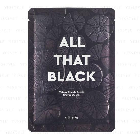 Маска для лица против черных точек Skin79 All That Black Mask маска от черных точек pilaten black mask на одно нанесение