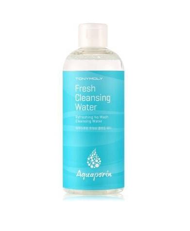 Очищающая вода с аквапоринами Tony Moly Aquaporin Fresh Cleansing Water