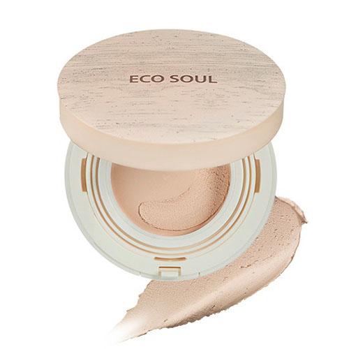 Тонирующая основа-мусс The Saem Eco Soul Mousse Foundation the saem eco soul bounce cream foundation 02 natural beige тональная основа для макияжа тон 02 15 гр