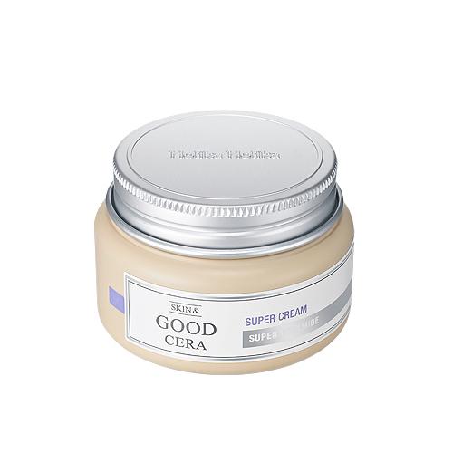 Увлажняющий крем с керамидами Holika Holika Skin And Good Cera Super Cream интенсивно увлажняющий бальзам карандаш для губ holika holika good cera super ceramide lip oil stick