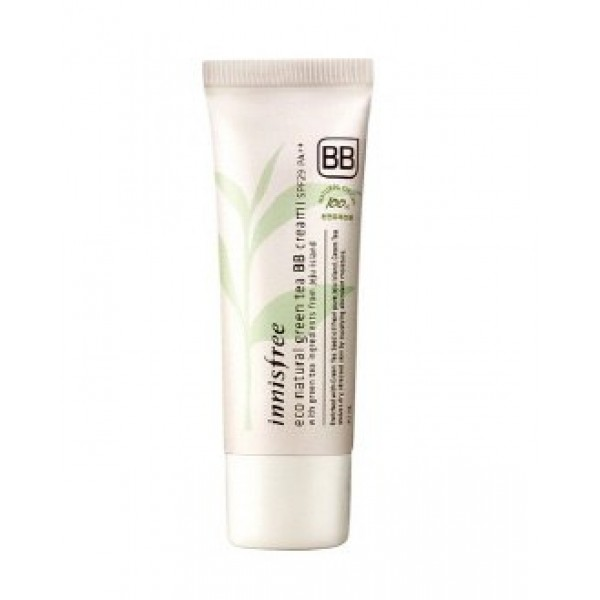 BB крем с зеленым чаем Innisfree Eco Natural Green Tea BB Cream