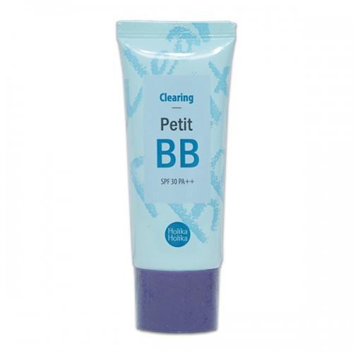 BB крем для жирной и проблемной кожи Holika Holika Petit BB Cream Clearing вв крем успокаивающий и смягчающий skin79 angry cat bb cream