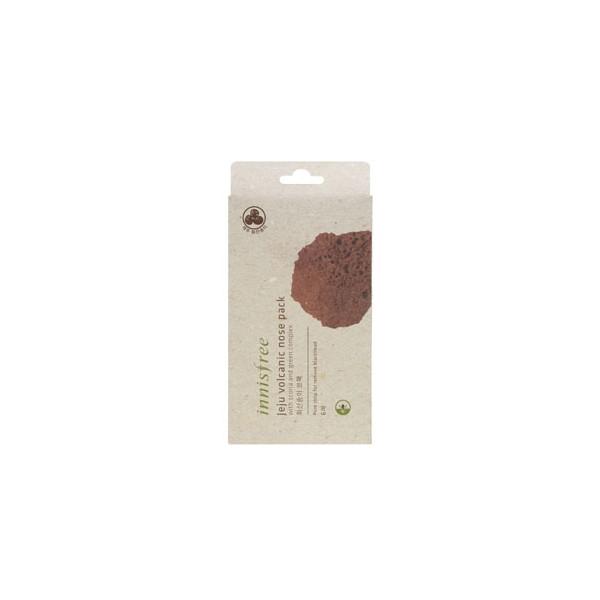 Патчи против черных точек Innisfree Jeju Volcanic Nose Pack (6 pcs) innisfree innisfree чедж вулканической грязь кониака чистка губка