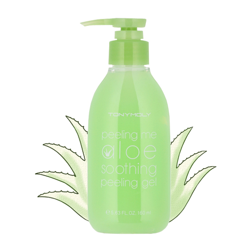 Успокаивающий Гель-пилинг Tony Moly Peeling me Aloe Soothing Peeling Gel гель tony moly the chok chok green tea essential soothing gel объем 200 мл