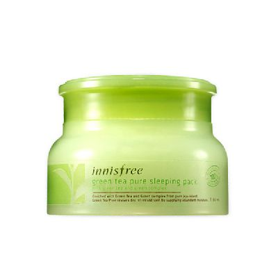 Ночная маска с зеленым чаем Innisfree Green Tea Pure Sleeping Pack