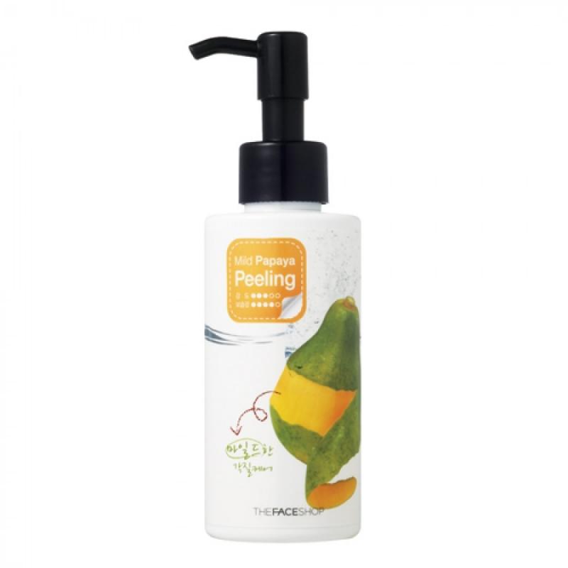 Мягкий пилинг для лица The Face Shop Mild Papaya Peeling