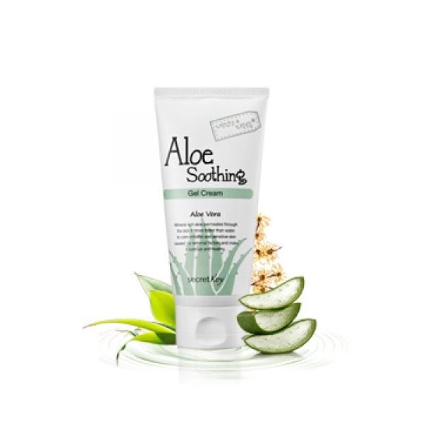 Крем-гель с алоэ Secret Key Aloe Soothing Gel Cream