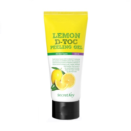 Мягкий пилинг-гель Secret Key Lemon D-Toc Peeling Gel