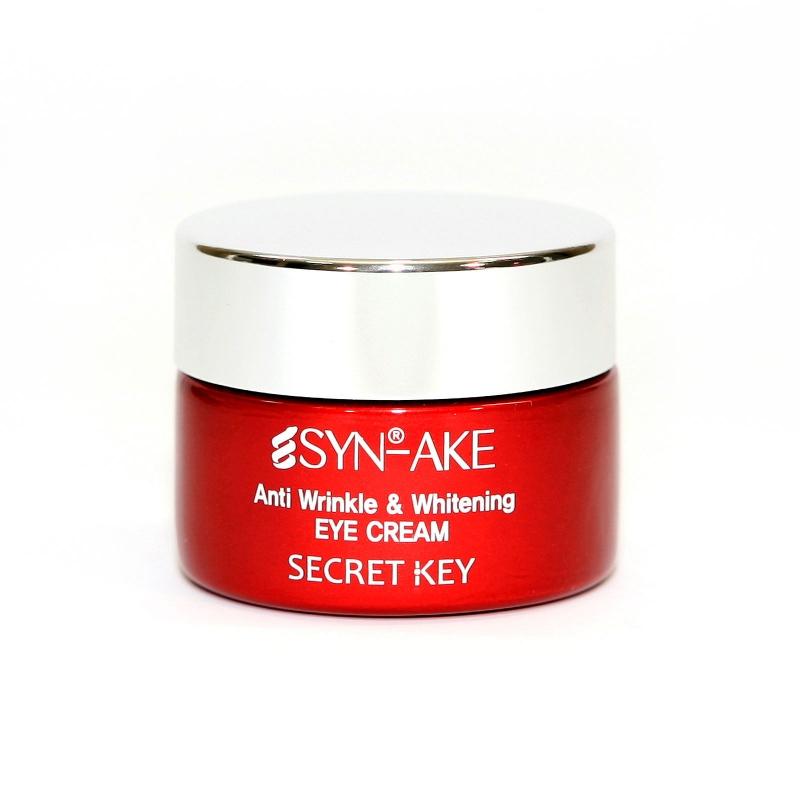 Антивозрастной крем вокруг глаз Secret Key Syn Ake Anti Wrinkle and Whitening Eye Cream
