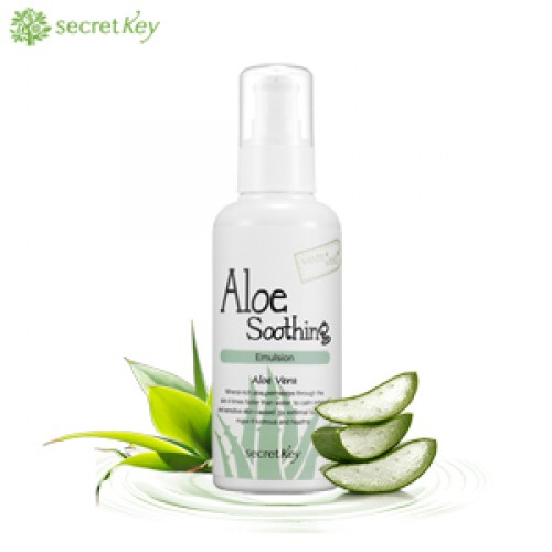 Мягкая эмульсия Secret Key Aloe Soothing Emulsion