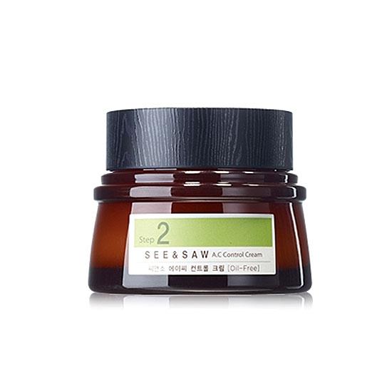 Крем для жирной и проблемной кожи The Saem See and Saw AC Control Cream защитный крем для лица the saem anti dust defence cream