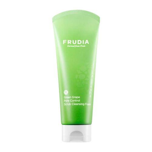 Пенка для умывания Frudia Green Grape Pore Control Scrub Cleansing Foam акне frudia green grape pore control toner объем 195 мл