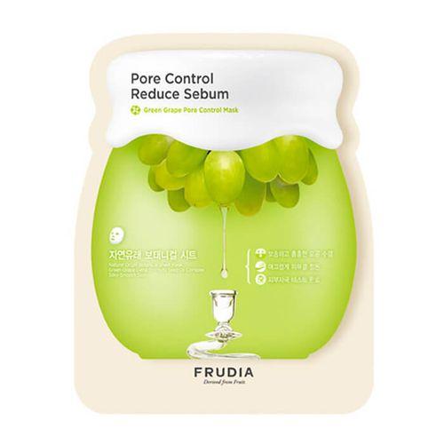 Маска для жирной и проблемной кожи Frudia Green Grape Pore Control Mask 1pcs акне frudia green grape pore control toner объем 195 мл