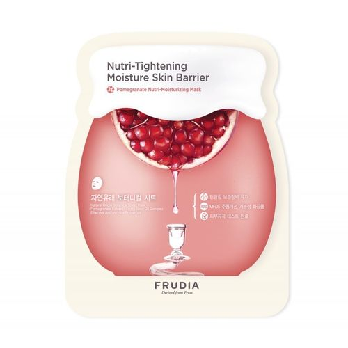Маска для лица с гранатом Frudia Pomegranate Nutri Moisturizing Mask 1pcs pomegranate sleeping mask sans rincage moisturizing whitening brightening nourishing replenishment beauty salon 1000g