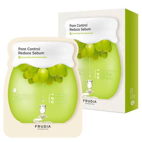 Набор масок с зеленым виноградом Frudia Green Grape Pore Control Mask Set акне frudia green grape pore control toner объем 195 мл