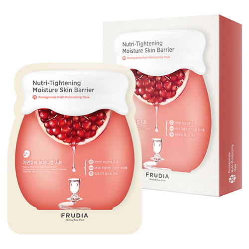 Набор масок для лица Frudia Pomegranate Nutri Moisturizing Mask Set pomegranate sleeping mask sans rincage moisturizing whitening brightening nourishing replenishment beauty salon 1000g