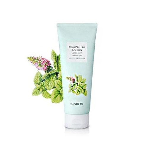 Пенка для умывания The Saem Healing Tea Garden Apple Mint Jelly Cleanser