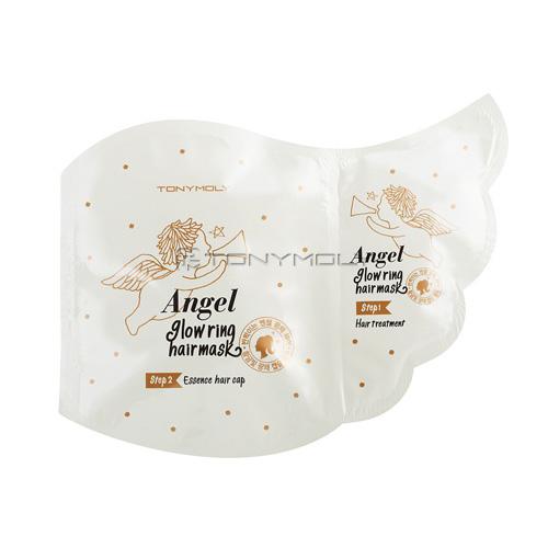 Восстанавливающая маска для волос Tony Moly Angel Glowring Hair Mask маска tony moly тканевые маски pureness 100 mask sheet tony moly