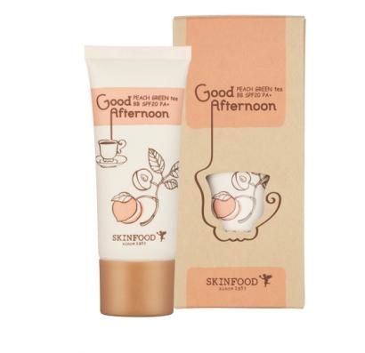Персиковый BB крем SKINFOOD Good Afternoon Peach Green Tea BB Cream