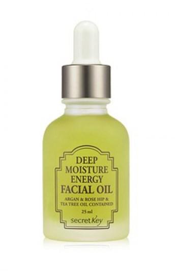Цветочное увлажняющее масло Secret Key Deep Moisture Energy Facial Oil