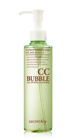 Средство для снятия макияжа Secret Key CC Bubble All in One Cleanser