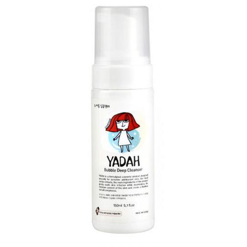 Пузырьковая пенка для умывания Yadah Yadah Bubble Deep Cleanser hyaluronic protein интенсивно увлажняет и питает восстанавливает водный баланс 10х3мл invit