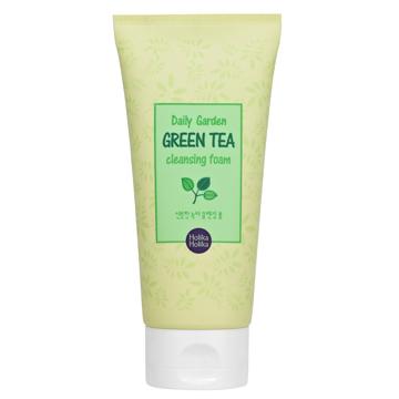 очищающая пенка с зеленым чаем Holika Holika