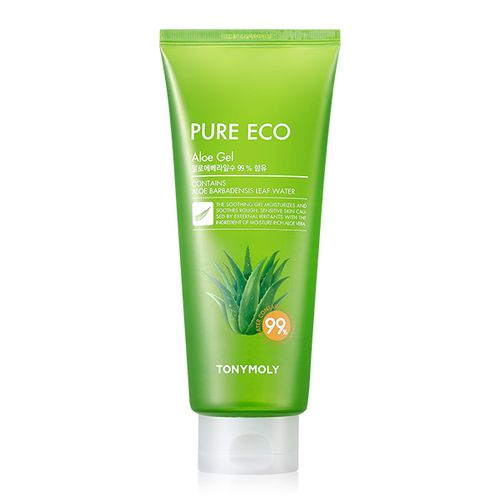 Универсальный гель для лица и тела с алоэ Tony Moly Pure Eco Aloe Gel (tube) маска tony moly тканевые маски pureness 100 mask sheet tony moly