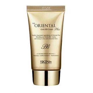 ВВ крем с экстрактом икры и золотом Skin79 The Oriental Gold Plus BB Cream tube сет из трех bb кремов skin79 super plus bb cream best 3 set