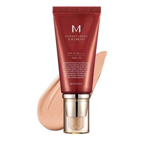 Универсальный BB крем Missha Missha M Perfect Cover BB Cream missha m perfect cover bb cream spf42 pa 50ml original korea missha perfect cover bb cream shipping from korea
