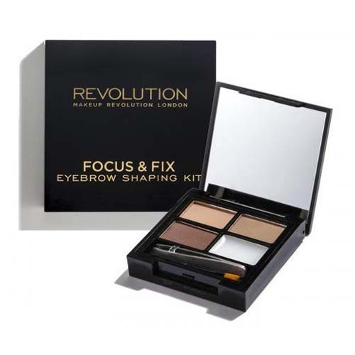 Палетка теней для бровей MakeUp Revolution Focus and Fix Eyebrow Shaping Kit sephora vintage filter палетка теней vintage filter палетка теней