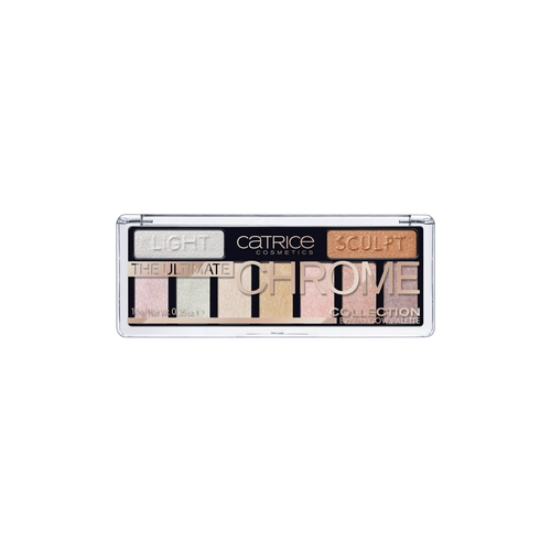Палетка теней Catrice The Ultimate Chrome Collection Eyeshadow Palette sephora vintage filter палетка теней vintage filter палетка теней