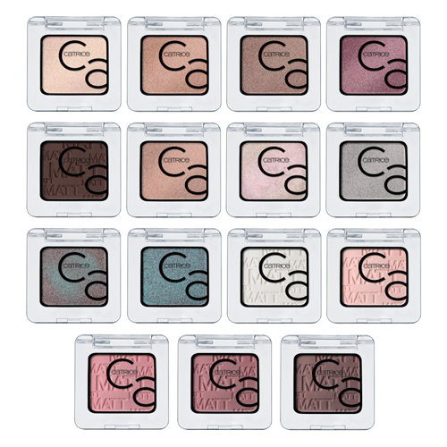 Тени для век Catrice Art Couleurs Eyeshadows тени для век catrice art couleurs eyeshadows 130 цвет 130 mr grey and me variant hex name bcb2b7
