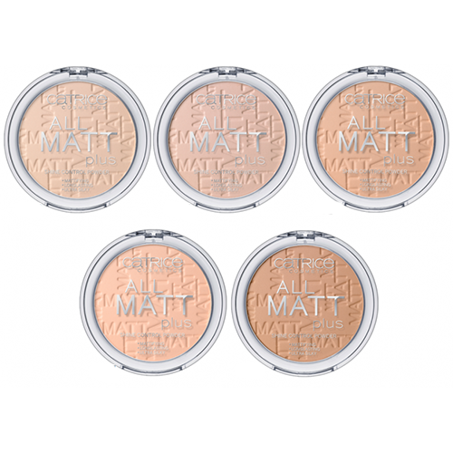 Матирующая пудра Catrice All Matt Plus Shine Control Powder