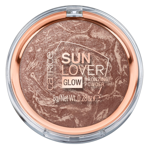 Пудра-бронзатор Catrice Sun Lover Glow Bronzing Powder бронзатор catrice sun lover glow bronzing powder цвет 010 sun kissed bronze variant hex name c09e93