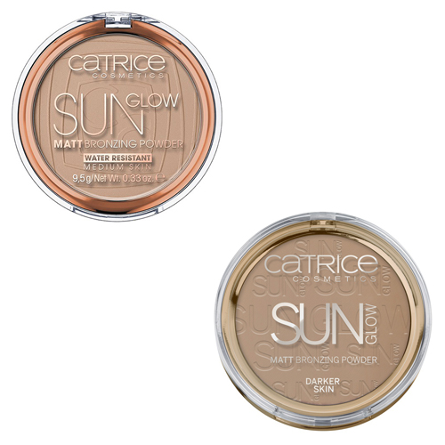 Матирующая компактная пудра Catrice Sun Glow Matt Bronzing Powder пудра бронзатор catrice sun lover glow bronzing powder