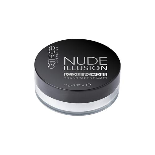 Прозрачная рассыпчатая пудра Catrice Nude Illusion Loose Powder рассыпчатая пудра ga de idyllic mineral loose powder 100 цвет 100 nude variant hex name cdbdad