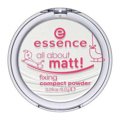 Компактная матовая пудра Essence All About Matt! Fixing Compact Powder для глаз essence all about … eyeshadow palettes 03 цвет 03 roses variant hex name ce9d6d