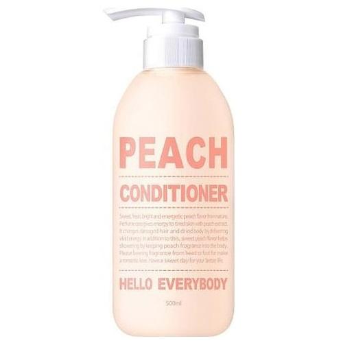 Кондиционер для волос с персиком Hello Everybody Peach Conditioner bols peach 700ml