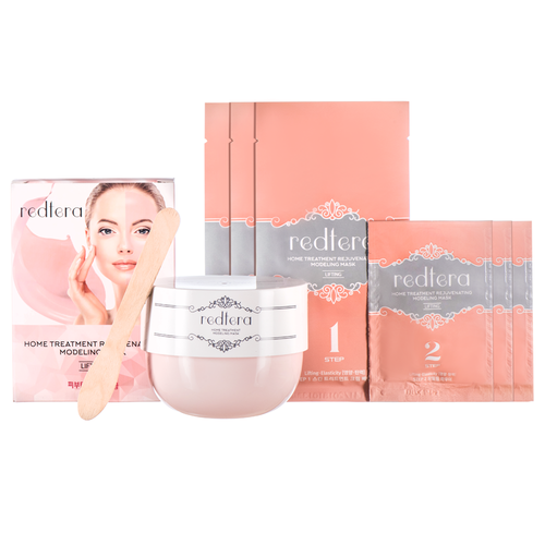Набор альгинатных масок Redtera Home Treatment Rejuvenating Modeling Mask home treatment for allergic rhinitis phototherapy light laser natural remedies for allergic rhinitis